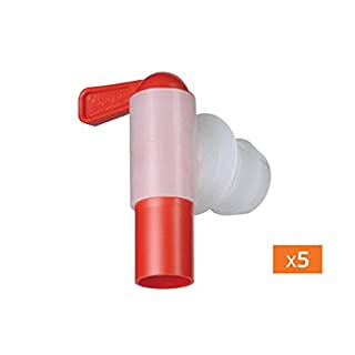 18-mm-Aeroflow TM - Auslaufhahn für nicht belüftete Metall- und Kunststoffbehälter