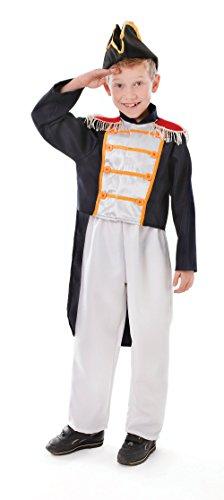 Boy Kostüm Colonial (Jungen Colonial Boy (M) Kostüm für viktorianische Dickensian Fancy Kleid Outfit)