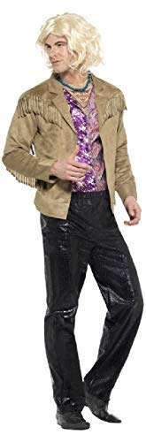 Fancy Me Herren Hänsel Zoolander Junggesellenabschied Nacht Comedy Lustig Tv Buch Film Kostüm Kleid Outfit M & L - Multi, Medium (Zoolander Hansel Kostüm)