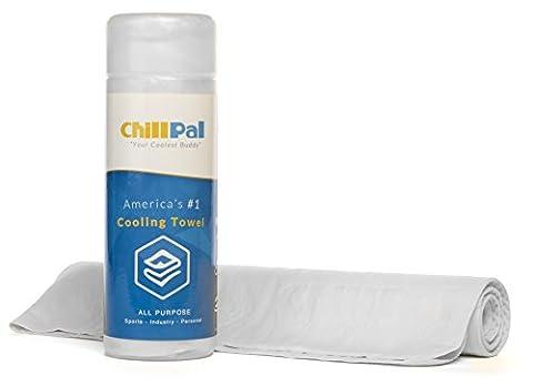 Chill PAL en microfibre Serviette de refroidissement serviette yoga sport antiderapante microfibre