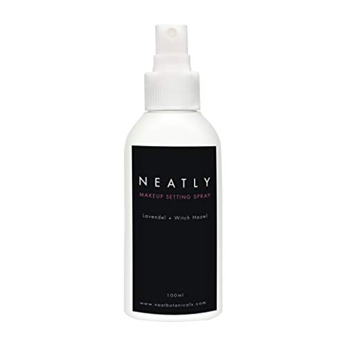 Fixing Spray von Neatly | Makeup Setting Spray 100ml | Make Up Fixing Spray Gesicht für das perfekte Finish | Fixierspray Langanhaltend & natürlich