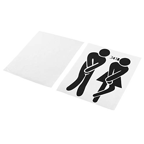 ghfcffdghrdshdfh Funny Toilet Entrance Sign Decal Vinyl Sticker for Shop Office Home Cafe Hotel Toilet Bathroom Wall Door Decoration -
