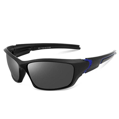 sunshineBoby Sonnenbrillen Radfahren Fahren Reiten Schutzbrille Outdoor Sports Eyewear--Damen und Herren Polarisierte Medium Sonnenüberbrille für Fahrrad, angeln, sport usw. UV400 Schutz (Mehrfarbig B)