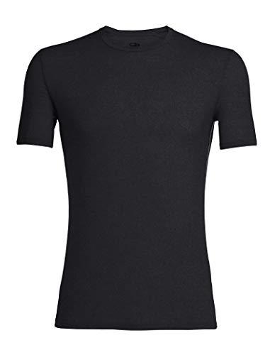 nktionsshirt Anatomica SS Crewe Unterhemd, schwarz - Black/Monsoon, XX-Large ()