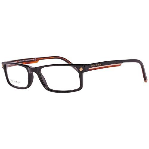 D Squared Sonnenbrillen Unisex 0223 56P, Tortoise / Green Gradient Kunststoffgestell, 53mm