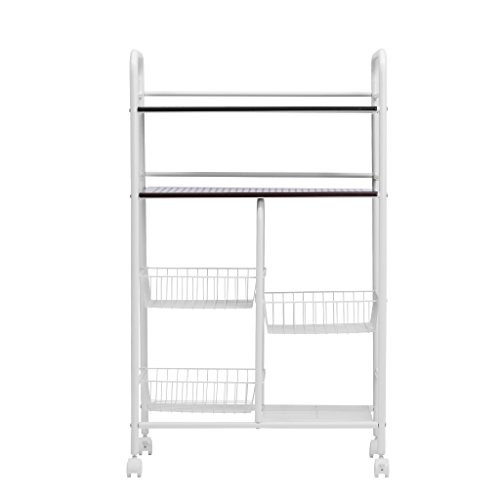 Langria All Purpose And Space Saving Rolling Storage Rack