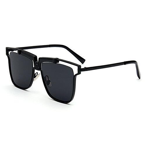 Haodasi Stylish Square Metal Rahmen Coating Spiegel Eyewear Brille Anti-Glare UV400 Sonnenbrille Outdoor Brille