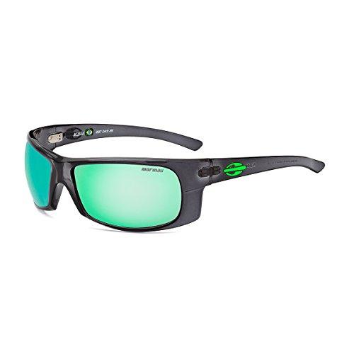 Preisvergleich Produktbild Sonnenbrille Acqua, Mormaii grau mit grün spiegel Linsen