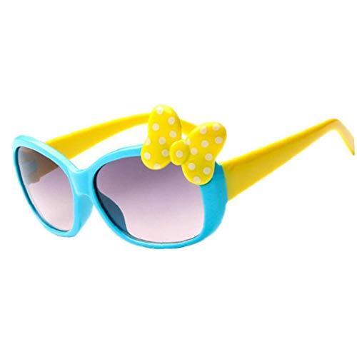 Kinder Sonnenbrillen Jungen Mädchen Kind Classic Retro Nette Sun Glasses -Super Bequeme Sun Glasses
