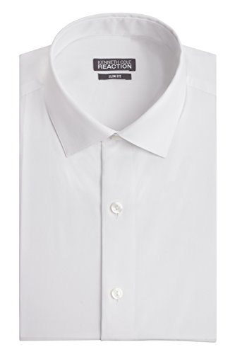kenneth-cole-mens-chambray-slim-fit-solid-spread-collar-dress-shirt-white-16-neck-34-35-sleeve