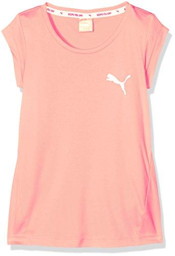Peach Mädchen-shirt (PUMA Kinder Active Dry Ess Tee G T-Shirt, Nrgy Peach, 176)
