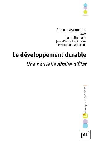 Le développement durable: Une nouvelle affaire d'État