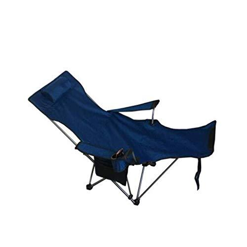 WYJW Outdoor-Klappstuhl Dual-Use-Liege Portable Back Beach Camping Angeln Krankenhaus Begleitbett (Diebstahl kann Nicht entfernt Werden)