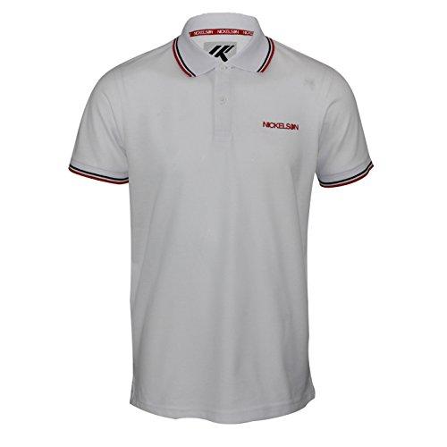 Nickelson Herren Poloshirt * Weiß