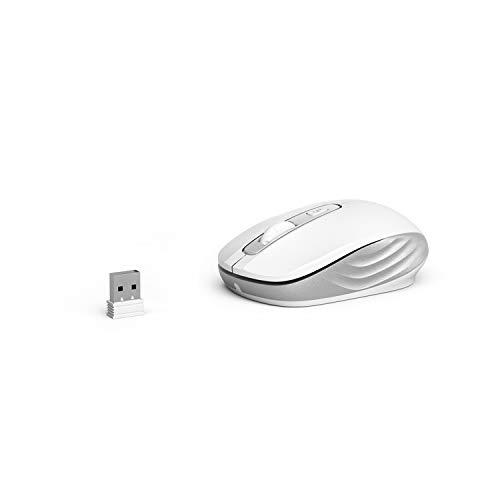 OMOTON Ratón USB, Blanco
