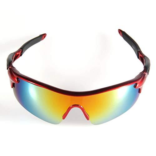 Elviray Leichte Outdoor Sport Radfahren Fahrrad Fahren Sonnenbrillen Brillen Goggle UV400 Objektiv oder Motorrad Enthusiasten und Biker