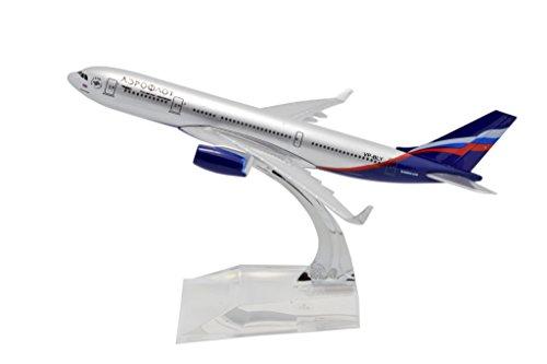 tang-dynastyr-1400-aeroflot-air-bus-a330-buona-lega-modellino-aereo-giocattoli