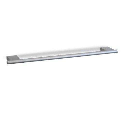 TATAY 6060700 - Colección Ice,  Toallero Mediano de aluminio, 7 x 1.5 x 48.5 cm