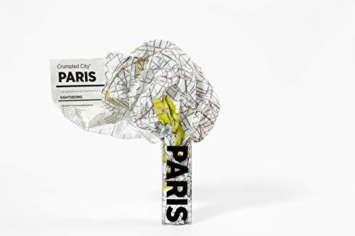 Crumpled City: Paris. Soft city maps for urban jungles: Die cleveren Stadtpläne für Großstadtnomaden (Crumpled City Maps)