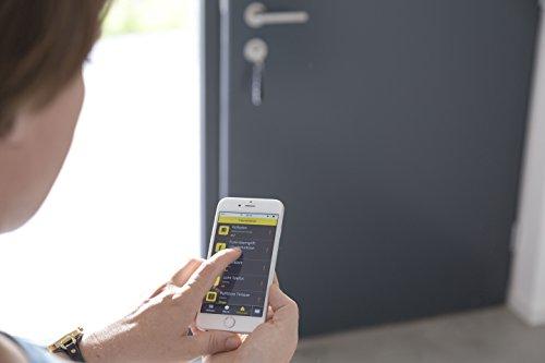Schellenberg Smart Home Funk-Alarmgriff weiß, variable Vierkantlänge - 7