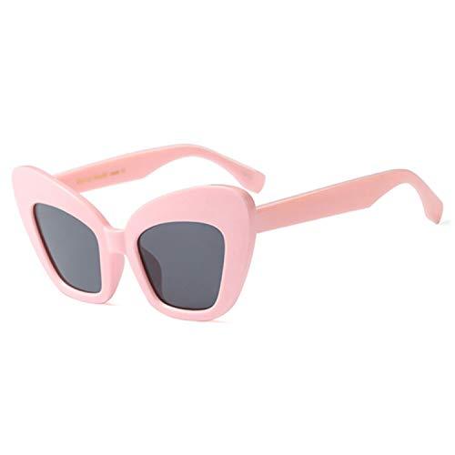 Sport-Sonnenbrillen, Vintage Sonnenbrillen, Butterfly Sunglasses Women Retro Pink Leopard Black Vintage Red Cat Eye Sun Glasses For Women Big Frame Eyewear as picture C3 Leopard