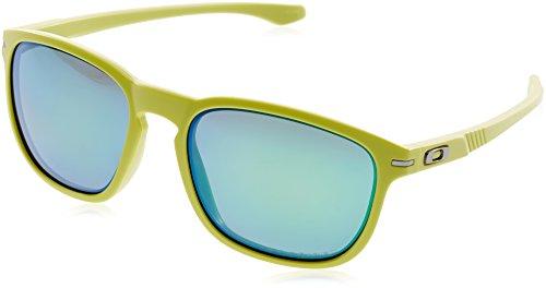 Oakley Herren Sonnenbrille Enduro, Matte Fern W/Jade Irid Pol, One size, OO9223-18