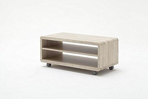 TV-lowboard, TV-Board, TV-Tisch Jeff7, sonoma mit