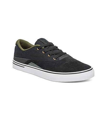 DC Mens Sultan Skate Shoes, Black/White, 11D Black/Forest