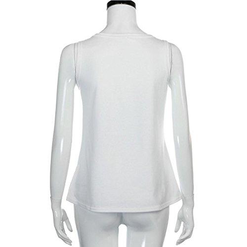 Ouneed® Femme Motifs Debareurs Ete Tshirt Tops de Casual S tour de poitrine 88cm