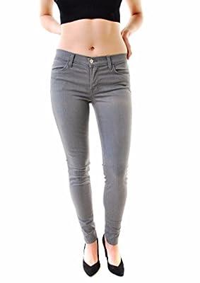 J BRAND Women's Gotham Super Skinny Jeans Gray 620O239