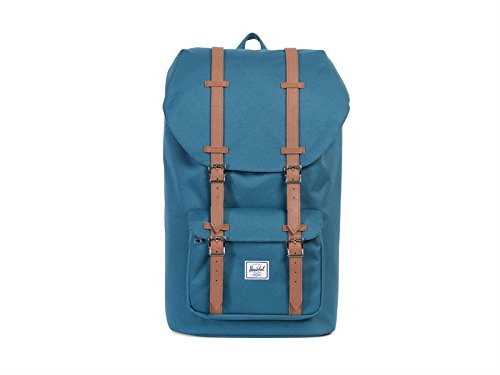 Herschel Little America Indian Teal/Tan Synthetic Leather