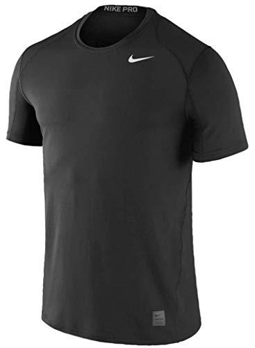 Nike Pro Combat Compression Shirt Funktionsshirt Kinder langarm dunkelblau S (128-140) (Combat T-shirt Pro Nike)