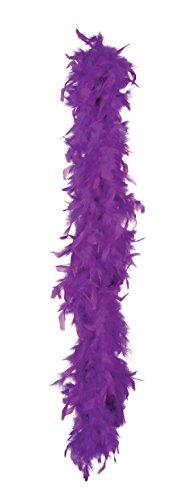 Boland - Boa de pluma para disfraz, 180 cm, color púrpura (52708)
