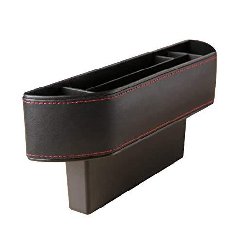 RUIX Multifunktions-Auto Zubehör Sitz Seitentaschen Aufbewahrungsboxen Organizer 2 Packungen,Black