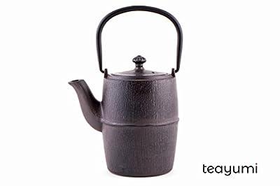 teayumi–Daiki Théière en fonte 0,9l Marron