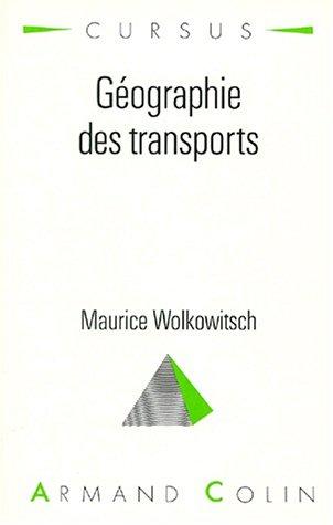 Geographie des transports                         aménagement et environnement