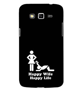EPICCASE wife case Mobile Back Case Cover For Samsung Galaxy Grand 2 (Designer Case)
