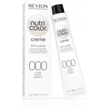 Revlon Professional Nutri Color Cream Nr.000 White, 1er Pack (1 x 100 ml)
