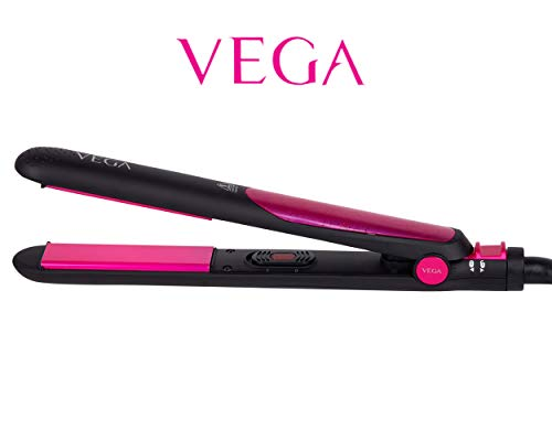 VEGA Silky Hair Straightener (VHSH-06), Black