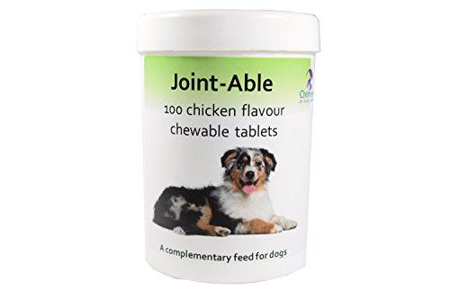 Gesundheit Glucosamin (Jointable - Kautabletten mit Hühnchenaroma für Hunde mit Glucosamin, Chondroitin, Grünlippmuschel, Bromelain, Kurkuma und MSM)