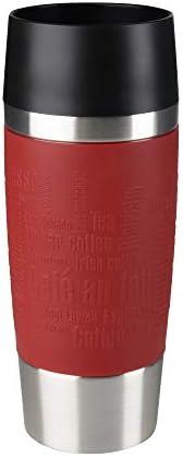 Tefal K3084114 Travel Mug, Red, 0.36 L