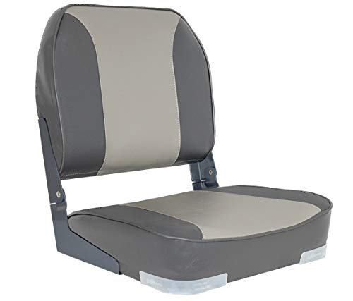 Oceansouth Deluxe Folding Boat Seat (Grey/Charcoal)