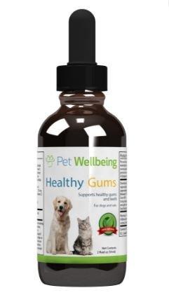 Natürliche Pflanzliche Präparate (Pet Wellbeing Gesunder Zahnfleisch - Hund Parodontale Gesundheit - Ein Natürliches, Pflanzliches Präparat Für Gesunde Zahnfleisch, Zähne und Atem 2 Unzen)