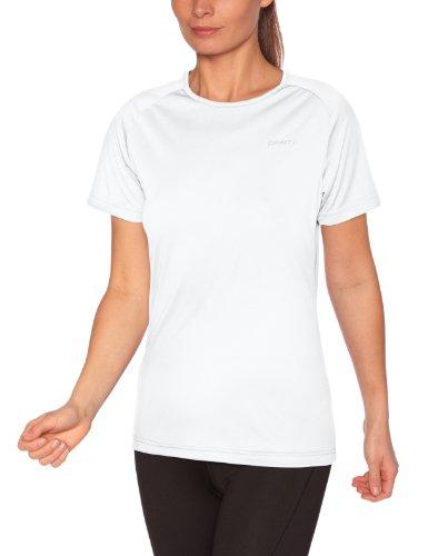 Craft Active T-Shirt logo fonctionnel femme Blanc