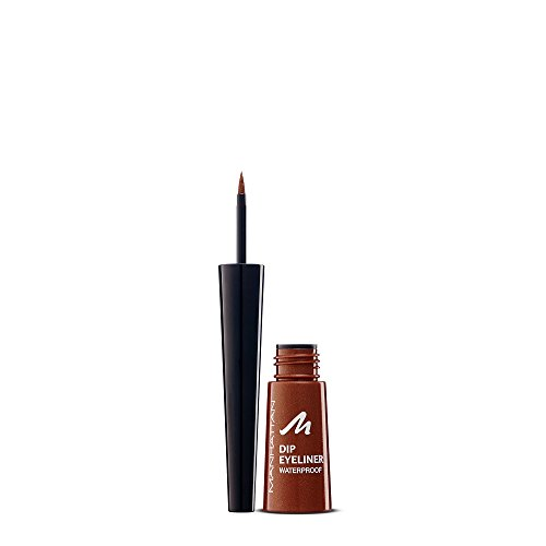 Manhattan 15062 Dip Eyeliner waterproof, tenderbrown, 1er Pack