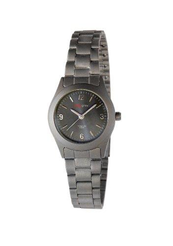 Pure grey Titan Damenuhr 7190 S