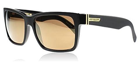 Vonzipper Sunglasses Elmore Black Black/Gold Gloss Chrome Size:One Size