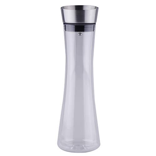 Baoblaze Kunststoff Klar Groß Krug Teekanne Wasserkrug für Wein Wasser Saft - 1000 ml (Klare Kunststoff-krug)