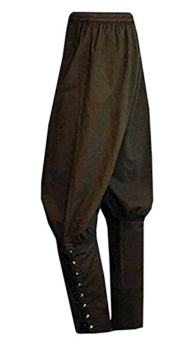 helbänder Hosen Mittelalter Wikinger Navigator Piraten Kostüm Hosen Renaissance Gothic Hosen ()