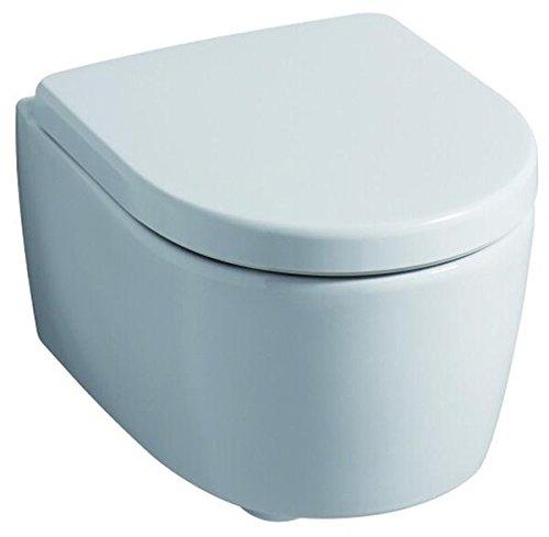 574120000 WC-Sitz iCon, mit Deckel Scharniere: Metall, weiß